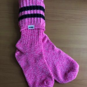 Brand new pink knee-high socks from Pink